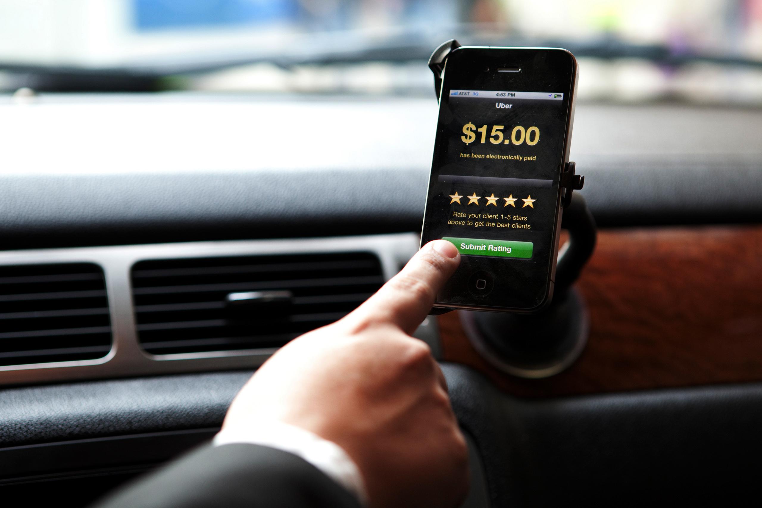 Тарифы Uber